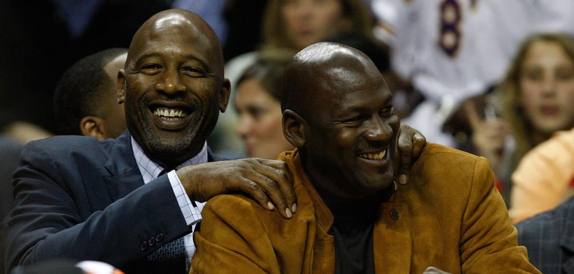 James Worthy, Michael Jordan