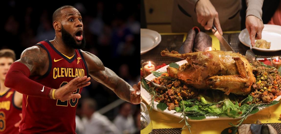 LeBron James, Thanksgiving