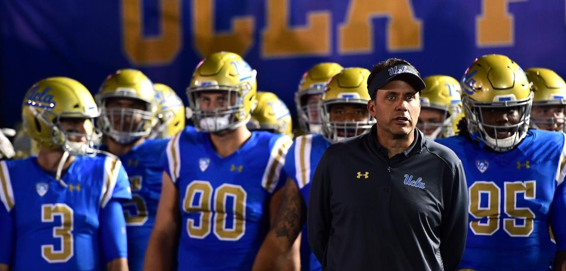 Jedd Fisch And UCLA Bruins