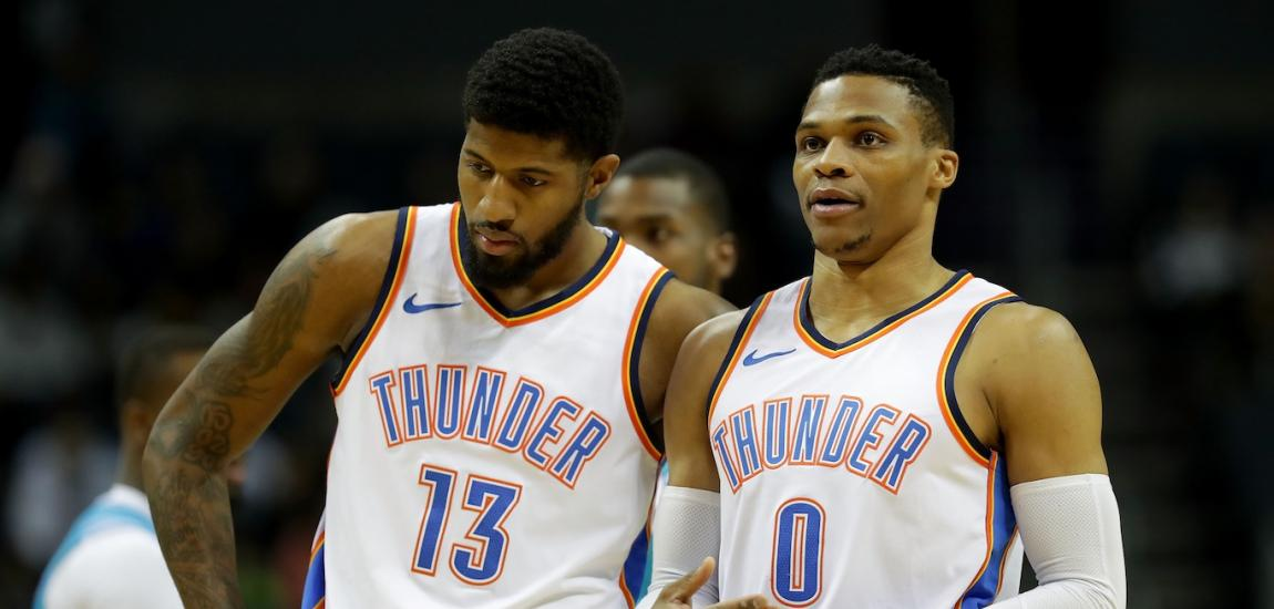 Paul George, Russell Westbrook