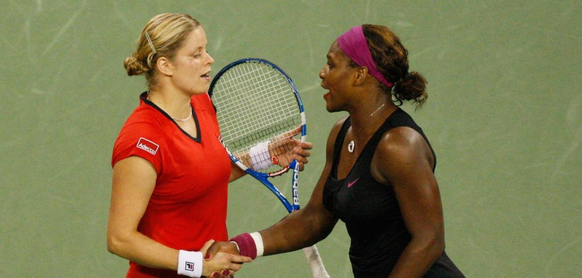 Kim Clijsters, Serena Williams