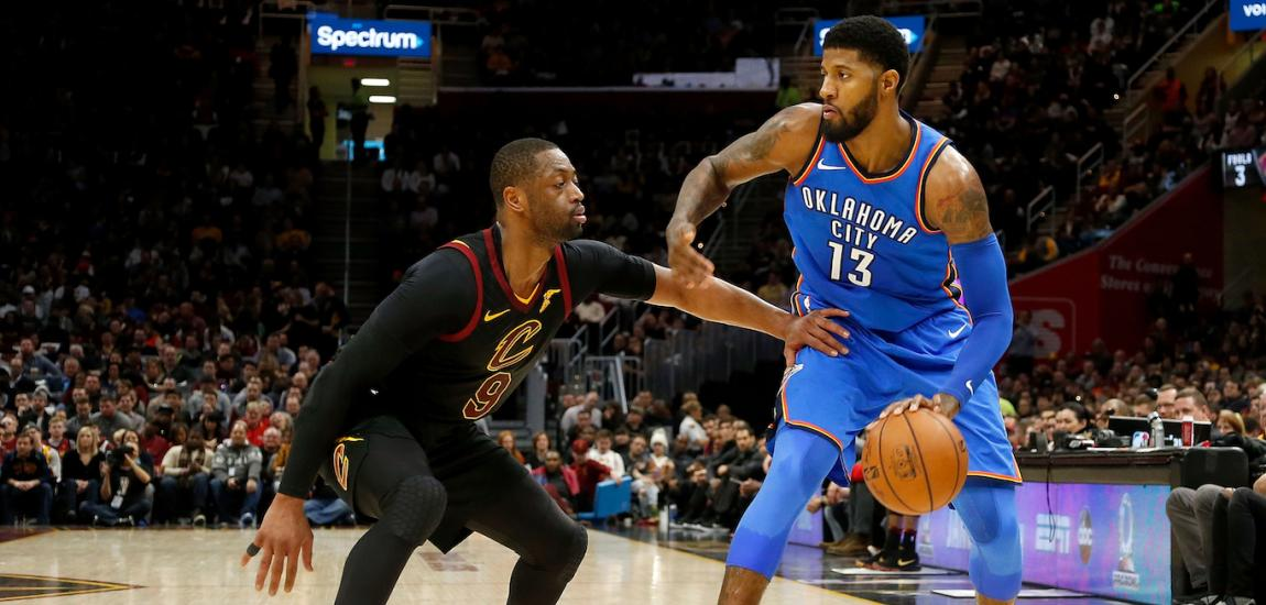 Dwyane Wade, Paul George