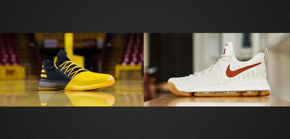 Sneakers From James Harden, Kevin Durant