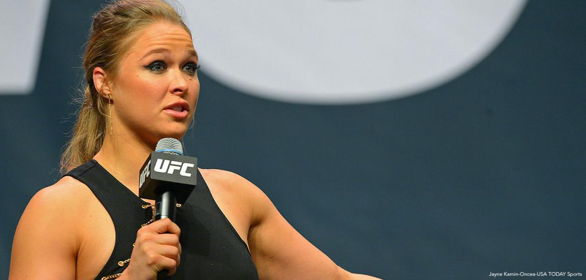 Ronda Rousey Beat Up Guys As Teen For Coffee