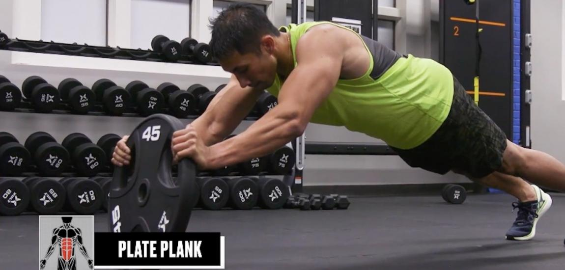 Weight-Plate Core Workout