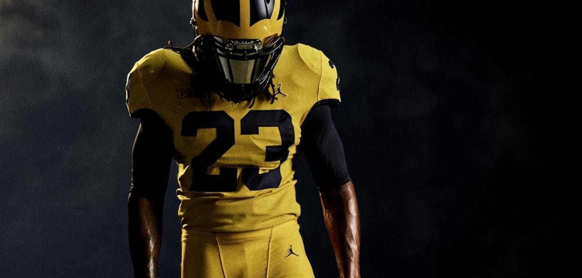 Michigan Football All-Maize Uniform