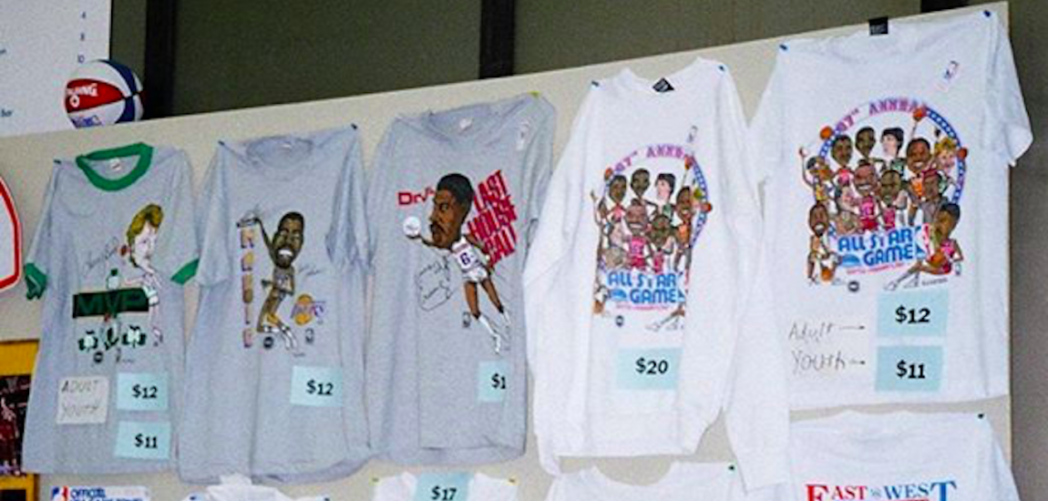 1987 NBA All-Star Merchandise