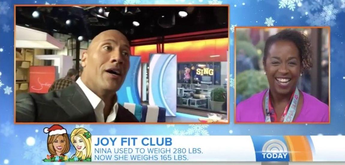 The Rock Inspires Woman's Weight Loss