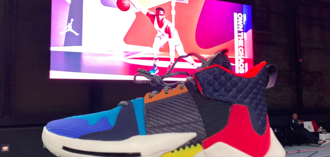 Russell Westbrook's Why Not Zer0.2 By Jordan Brand