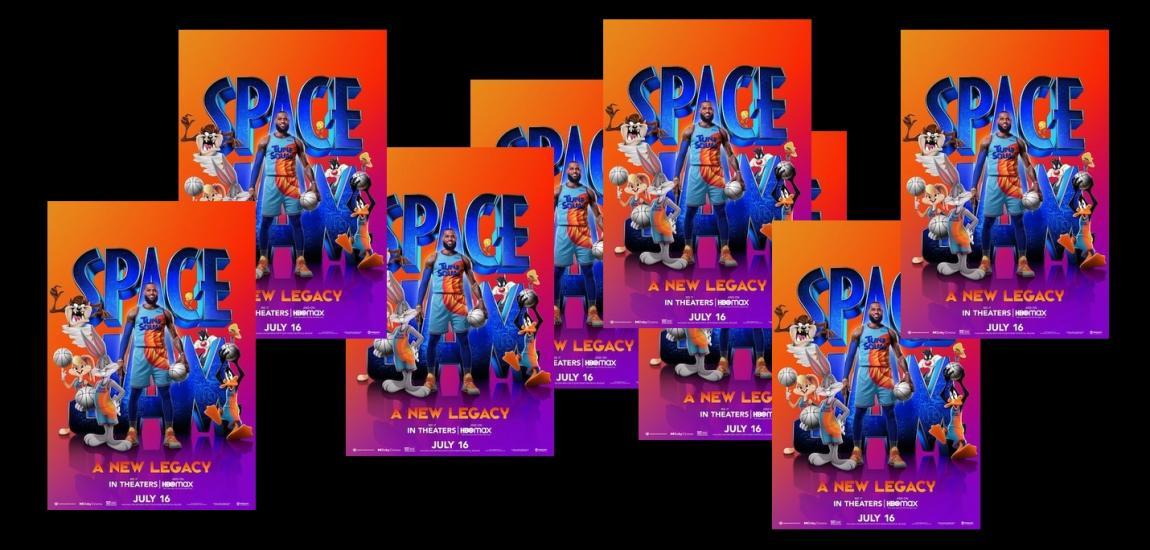 Space Jam Movie Posters