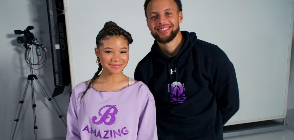 Stephen Curry, Storm Reid