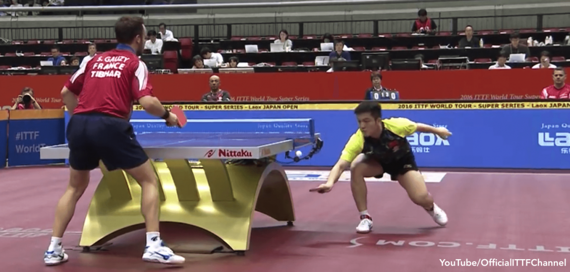 Zhendong Wins Crazy Point