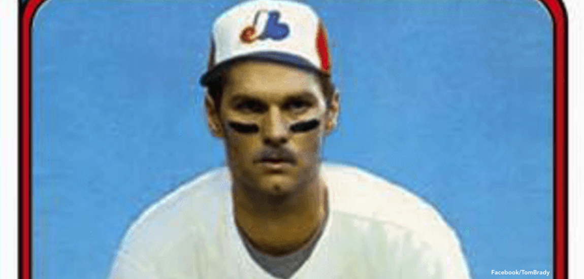 Tom Brady Models Montreal Expos Gear