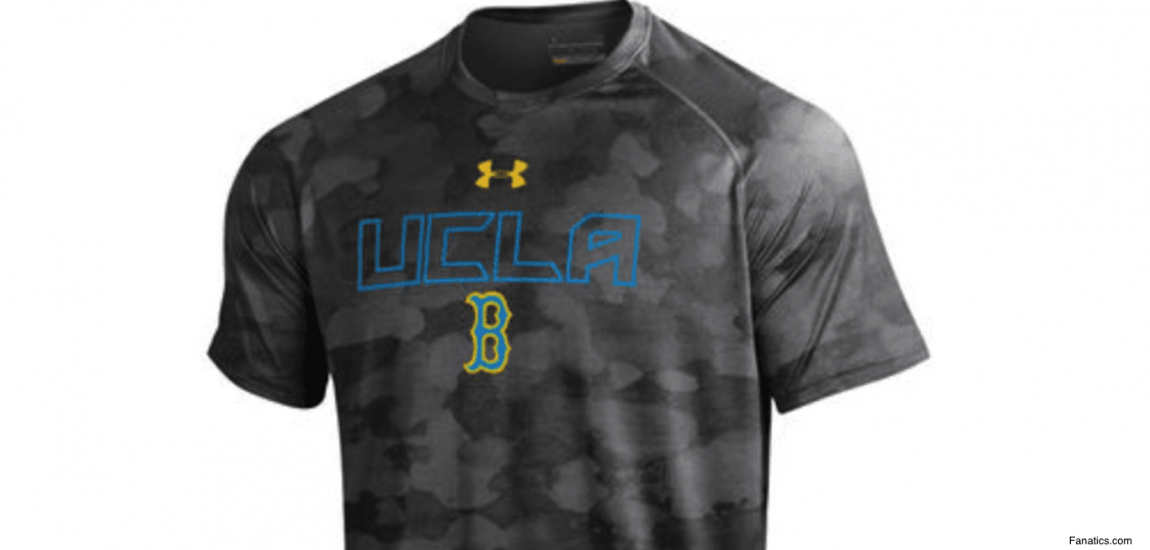 UCLA Camo T-Shirt By Under Armour