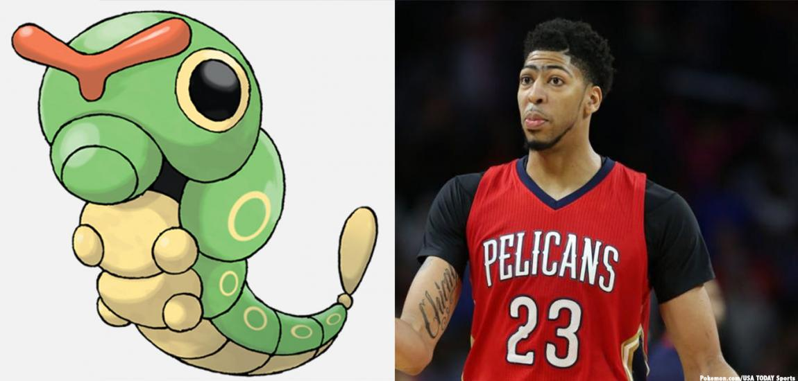 Caterpie, Anthony Davis