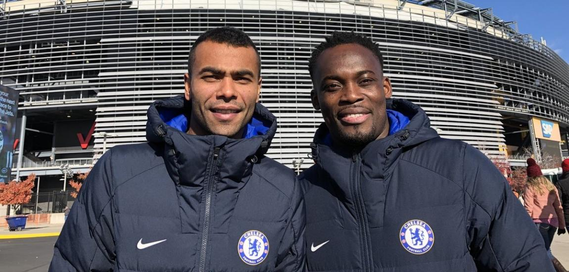 Ashley Cole, Michael Essien