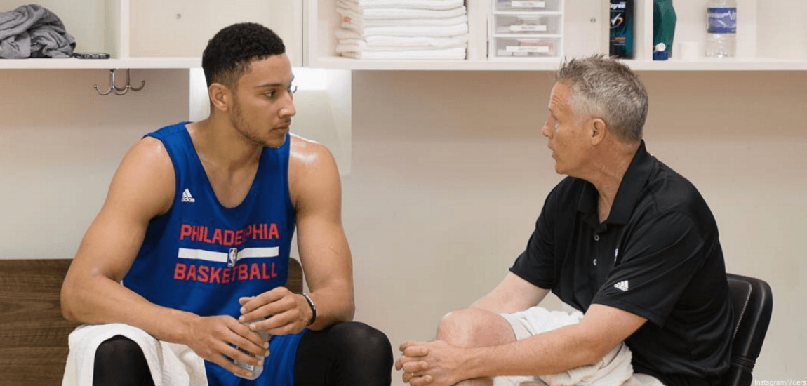 Ben Simmons, Brett Brown