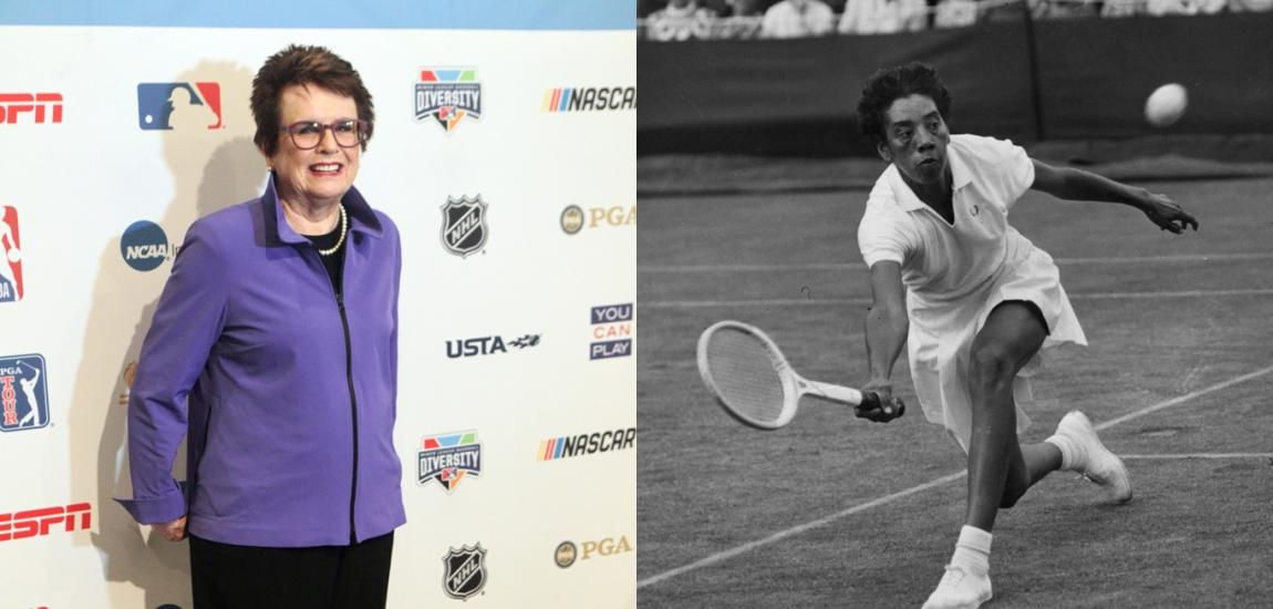 Billie Jean King, Althea Gibson