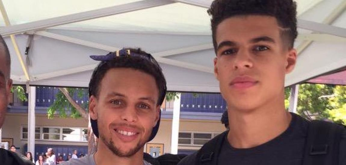 Stephen Curry, Michael Porter Jr.