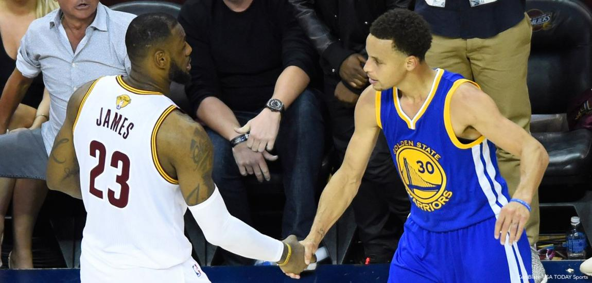 LeBron James, Stephen Curry