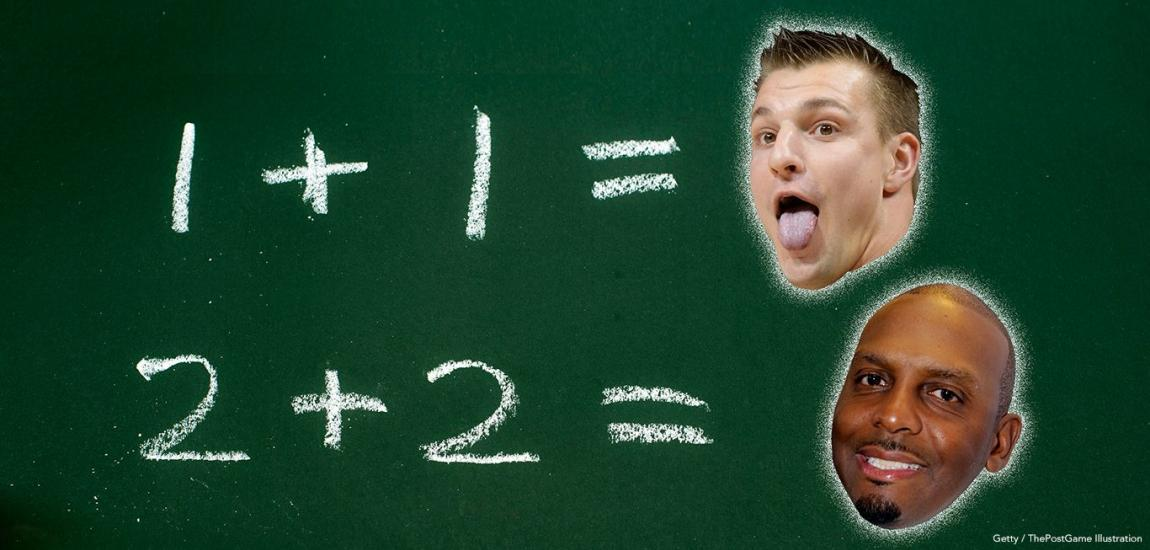 Gronk And Penny Like Math