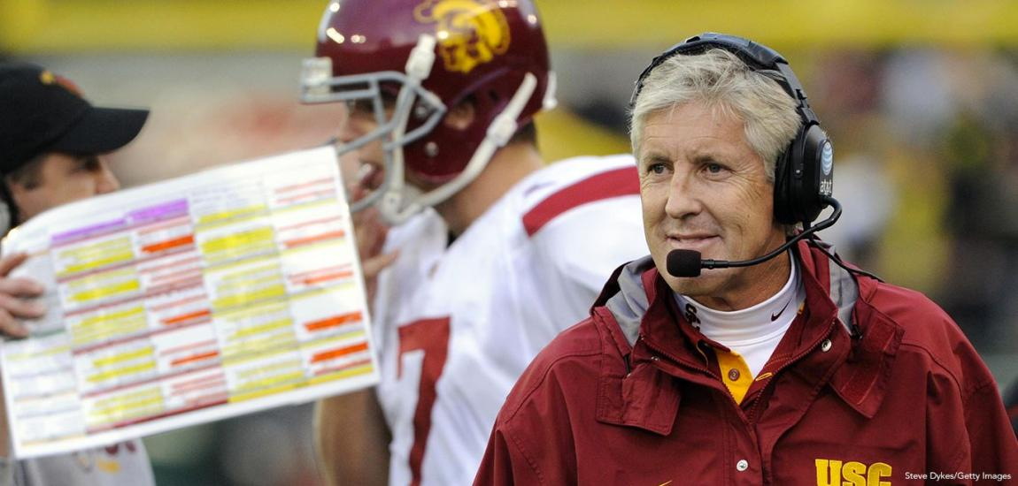 Pete Carroll At USC