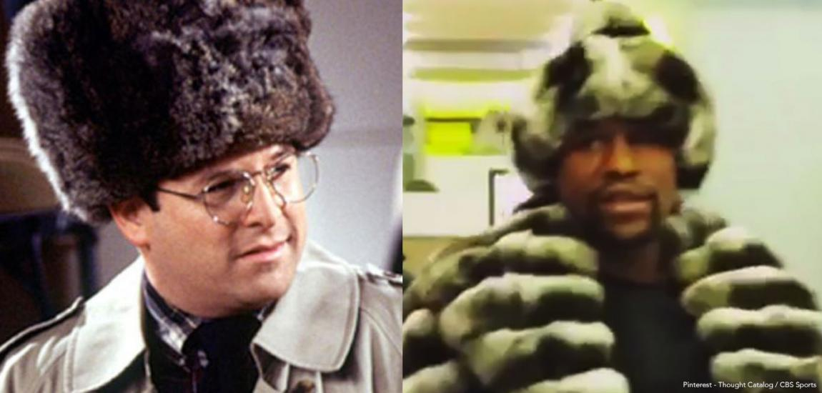 George Costanza and Floyd Mayweather