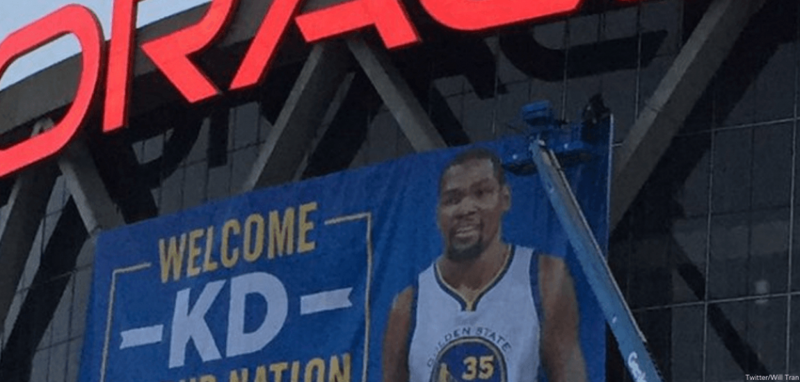 Kevin Durant, Golden State Warriors