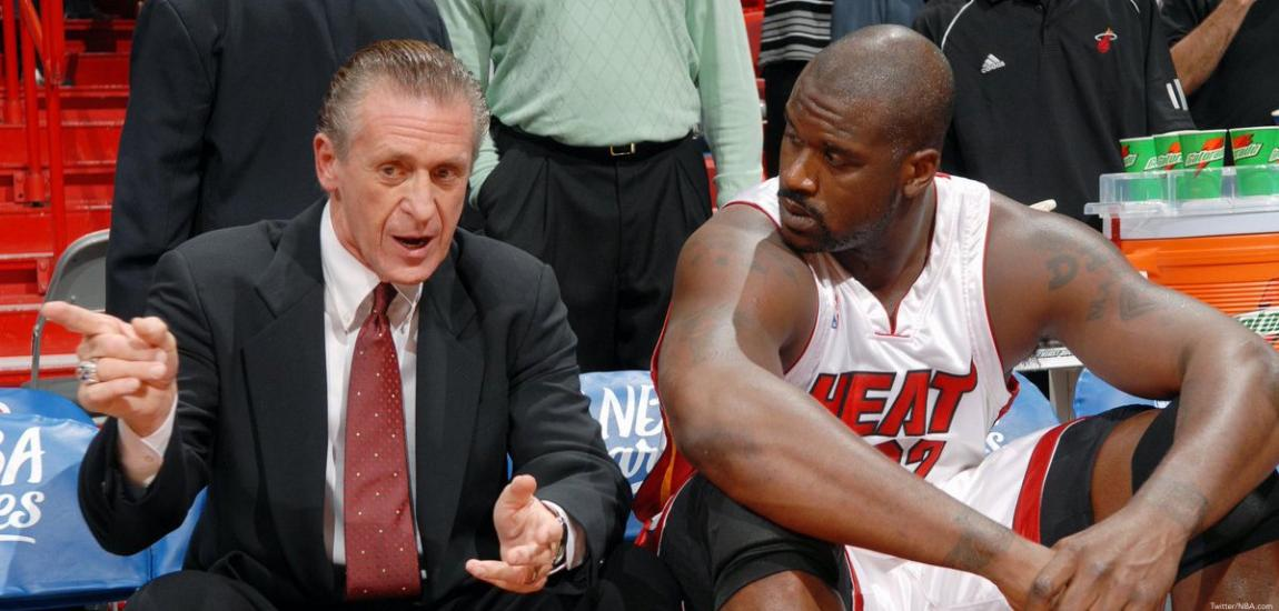 Pat Riley, Shaquille O'Neal