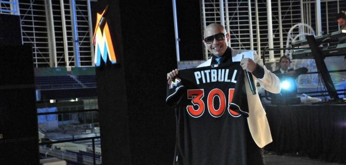 Pitbull, Miami Marlins