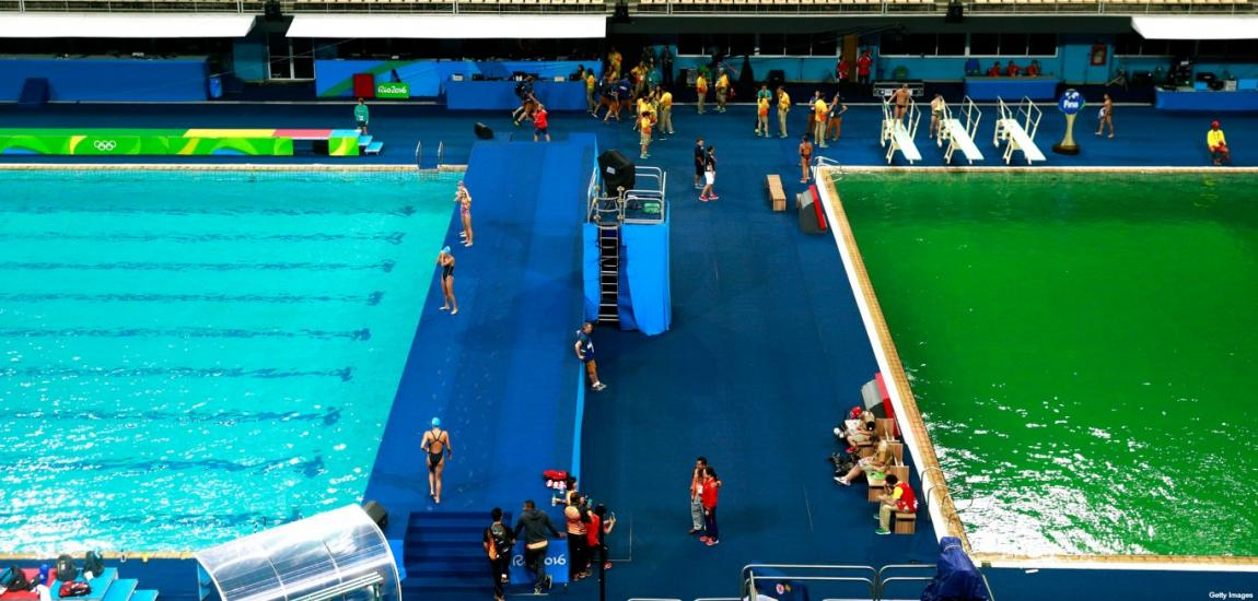 Swimming and Diving Pools