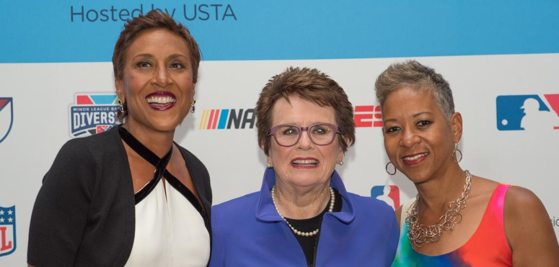 Robin Roberts, Billie Jean King, Katrina Adams