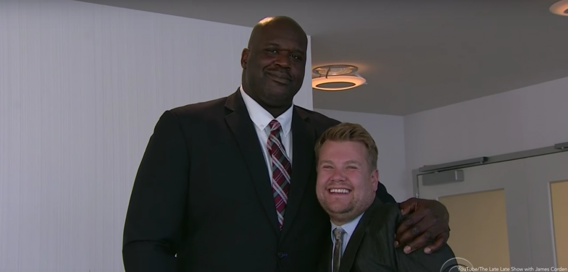 Shaquille O'Neal, James Corden