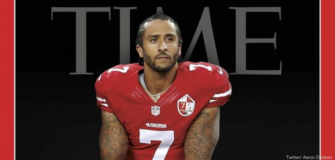 Colin Kaepernick, Time