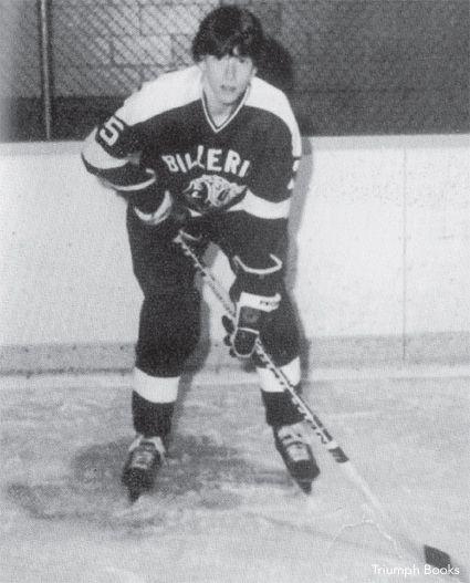 Tom Glavine High School Hockey