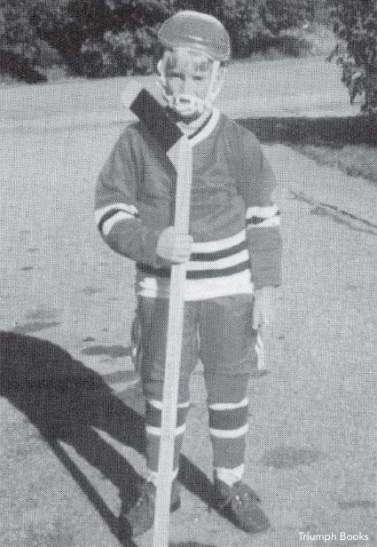 Tom Glavine Youth Hockey